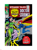 Strange Tales No.150 Cover: Dr. Strange and Umar Plastic Sign by Bill Everett