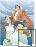 Guardians No.4 Cover: Guardians Prints by Casey Jones