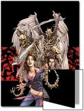 Spellbinders 6 Cover: Vesco, Kim and Asrokhel Print by Mike Perkins