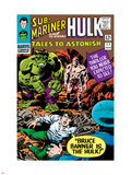 Tales to Astonish No.77 Cover: Hulk, Banner and Bruce Plastic Sign by Vince Colletta