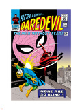 Daredevil No.17 Cover: Daredevil, Spider-Man and Marauder Wall Decal by John Romita Sr.