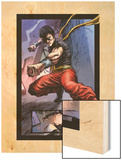 Spider-Island: Deadly Hands of Kung Fu No.1: Shang-Chi Wood Print by Sebastian Fiumara