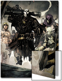 Secret Warriors No.7 Group: Scourge, Ghost, Headsman and Ant-Man Kunst von Alessandro Vitti