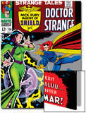 Strange Tales No.150 Cover: Dr. Strange and Umar Poster by Bill Everett