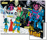 Infinity Gauntlet No.4 Group: Thanos Prints by George Perez