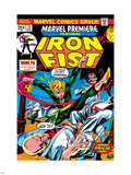 The Immortal Iron Fist: Marvel Premiere No.15 Cover: Iron Fist Plastic Sign by Gil Kane