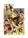 Chaos War No.1: Hercules, Wolverine, Thor, Spider-Man, Captain America, Mockingbird, & Black Widow Wall Decal by Khoi Pham