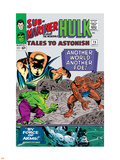 Tales to Astonish No.73 Cover: Hulk and Uatu The Watcher Plastic Sign by Vince Colletta