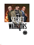 Secret Warriors No.7 Cover: Nick Fury Plastic Sign by Jim Cheung