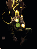 The Immortal Iron Fist: Orson Randall And The Death Queen Of California No.1 Cover: Iron Fist Plastic Sign by Kaare Andrews
