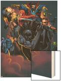Handbook: Marvel Knights 2005 Cover: Black Panther Wood Print by Pat Lee