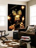 Infinity 3 Cover: Black Bolt Wall Mural by Adam Kubert