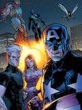 Ultimate X-Men No.63 Group: Captain America Plastic Sign by Stuart Immonen