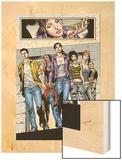 Spellbinders 6 Group: Vesco and Kim Wood Print by Mike Perkins