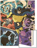 The Age Of The Sentry No.1 Cover: Sentry Wood Print by Dave Bullock