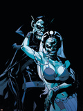 Black Panther No.41 Cover: Storm and Black Panther Plastic Sign by Jason Pearson