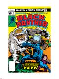 Black Panther No.5 Cover: Black Panther Znaki plastikowe autor Jack Kirby