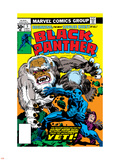 Black Panther No.5 Cover: Black Panther Plastic Sign by Jack Kirby