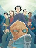 Guardians No.3 Cover: Drekk and Guardians Plastic Sign by Casey Jones