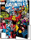 Infinity Gauntlet No.3 Cover: Adam Warlock Prints by George Perez