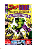 Tales to Astonish No.75 Cover: Hulk Plastic Sign by Vince Colletta