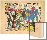 Infinity Gauntlet No.5 Group: Thanos Wood Print by George Perez