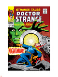 Strange Tales No.164 Cover: Dr. Strange and Yandroth Plastic Sign by Dan Adkins