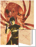 Spider-Island: Deadly Hands of Kung Fu No.1 Cover: Shang-Chi Posing Wood Print by Sebastian Fiumara