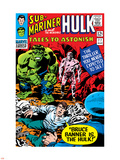 Tales To Astonish No.77 Cover: Hulk, Banner and Bruce Plastic Sign by John Romita Sr.
