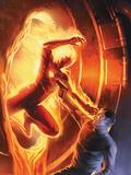 Marvel Comics No.1 70th Anniversary Edition Cover: Human Torch Prints