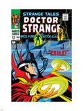 Strange Tales No.168 Cover: Dr. Strange and Yandroth Plastic Sign by Dan Adkins