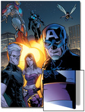 Ultimate X-Men No.63 Group: Captain America Print by Stuart Immonen