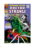 Strange Tales No.166 Cover: Dr. Strange and Voltorg Plastic Sign by George Tuska