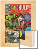 Tales To Astonish No.77 Cover: Hulk, Banner and Bruce Wood Print by John Romita Sr.