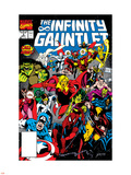 Infinity Gauntlet No.3 Cover: Adam Warlock Wall Decal by George Perez