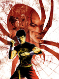 Spider-Island: Deadly Hands of Kung Fu No.1 Cover: Shang-Chi Posing Wall Decal by Sebastian Fiumara