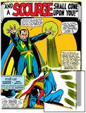 Strange Tales No.161 Cover: Dr. Strange and Baron Mordo Art by Dan Adkins