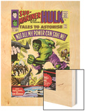 Tales to Astonish No.75 Cover: Hulk Wood Print by Vince Colletta