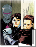 The Loners No.5 Cover: Turbo, Urich, Phil and Darkhawk Poster by Karl Moline