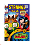 Strange Tales No.148 Cover: Dr. Strange, Ancient One and Kaluu Plastic Sign by Bill Everett