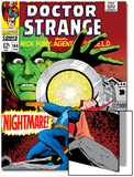 Strange Tales No.164 Cover: Dr. Strange and Yandroth Art by Dan Adkins