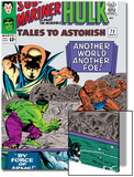 Tales to Astonish No.73 Cover: Hulk and Uatu The Watcher Art by Vince Colletta