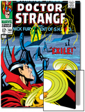 Strange Tales No.168 Cover: Dr. Strange and Yandroth Prints by Dan Adkins