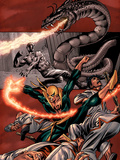 The Immortal Iron Fist: The Origin Of Danny Rand Cover: Iron Fist Wall Decal by Gil Kane