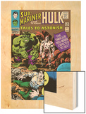 Tales to Astonish No.77 Cover: Hulk, Banner and Bruce Wood Print by Vince Colletta