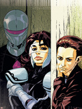 The Loners No.5 Cover: Turbo, Urich, Phil and Darkhawk Wall Decal by Karl Moline