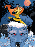 Patsy Walker: Hellcat No.3 Cover: Hellcat Wall Decal by Stuart Immonen