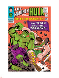 Tales to Astonish No.79 Cover: Hulk and Hercules Wall Decal by Bill Everett