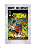 Marvel Milestones No.6 Cover: Captain Britain, Spider-Man and Red Skull Plastic Sign by Jon Haward