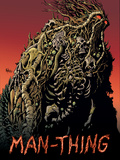 Man-Thing No.2 Cover: Man-Thing Poster by Kyle Hotz